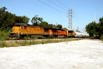 UP 9323, BNSF 5882, and BNSF 2412